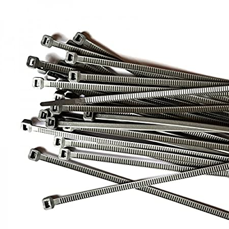 100 Stück GT-200STCGRY GW Kabelbinder-Technik Kabelbinder 200 x 4,8 mm grau