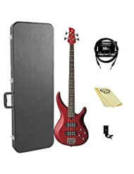 Yamaha TRBX304 CAR 4-String Bass Guitar Pack