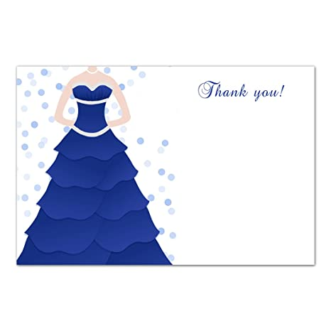 Amazon Com 30 Blank Thank You Cards Notes Sweet 16 Quinceanera 15