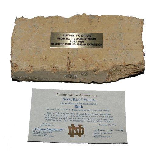 University of Notre Dame Authentic Stadium Brick