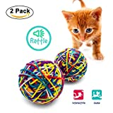 Categories Knitty Kitty 2 Pack - Yarn Ball Cat Toy With Rattle
