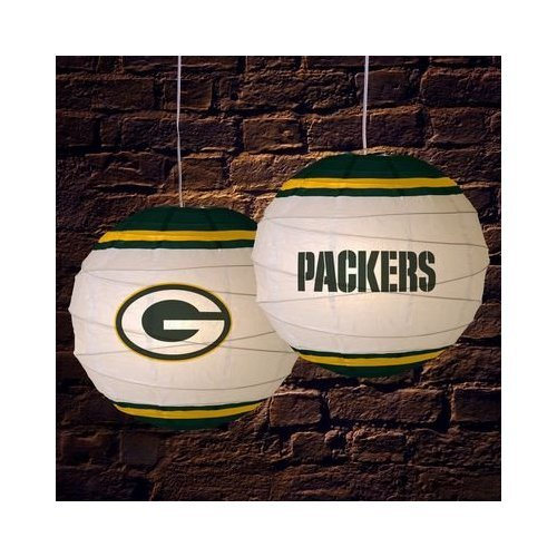 Amazon.Com: Green Bay Packers 18 Inch Rice Paper Lamp Nfl Football