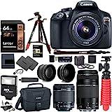 Canon EOS Rebel T6 DSLR Camera Kit, EF-S 18-55mm IS II Lens, EF