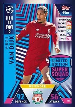 Liverpool 18/19 - Tarjeta de felicitación de campeones de ...