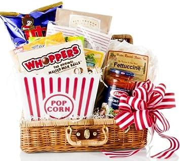 Amazon.com : Basket Affair - Dinner And A Movie Gourmet Gift ...