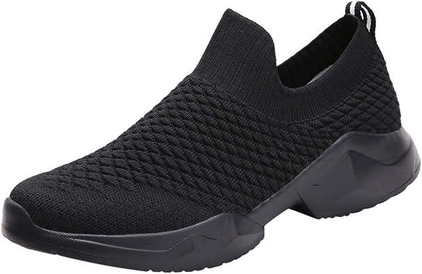 HOUMENGO Zapatillas Deportivas de Mujer Gimnasio Zapatos Running Deportivos Fitness Correr Casual Ligero Malla Casual Slip-On Calzado Deportivo Runing Keep Warm Shoes Zapatillas De Deporte: Amazon.es: Zapatos y complementos