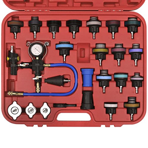 mewmewcat 27-Pack Radiator Pressure Tester with Vacuum Purge and Refill Kit (Upgraded Version) by mewmewcat (Image #2)