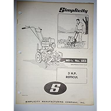 Simplicity roticul compare prices on gosale simplicity mfg no 552 3 hp roticul walk behind rotary tiller parts publicscrutiny Choice Image