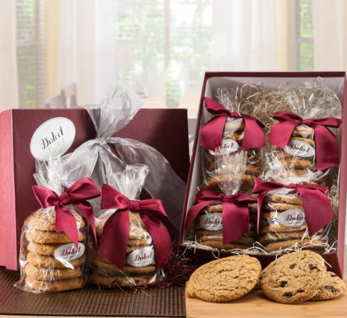 Dulcet's Chocolate Chip and Peanut Butter Cookie Gift Baskets