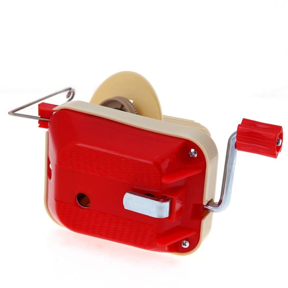 Winder Yarn - Coiler for Yarn Fiber String Ball Wool Winder Holder Hand Operated Cable Machine Craft Sewing Tool - by Nisson
