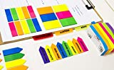 "BAZIC 2"" x 1.5"" Filing Tabs, PET Sticky Notes Memo"