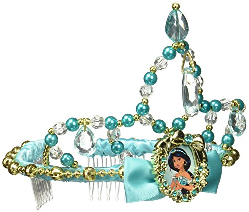 Jasmine Classic Disney Princess Aladdin Tiara, One Size (Jasmine For Halloween)