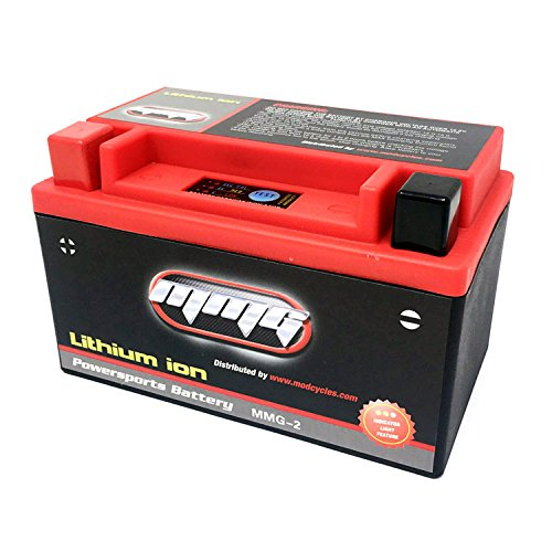 MMG YTX7A-BS 7A-BS Lithium Ion Sealed Powersports Battery 12V 160CCA Motorcycle Scooter ATV, Factory Activated, High Performance Powersports (MMG2) by MMG