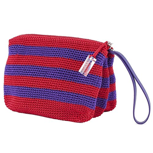 Handtasche, Zaira Lila, aus baumwolle