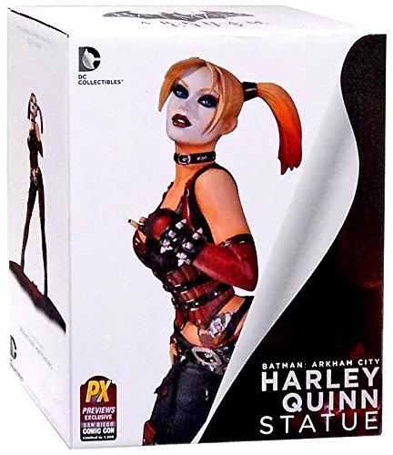 SDCC 2014 Exclusive Arkham City Harley Quinn Statue by DC Comics (Batman Arkham City Harley Quinn Costume)