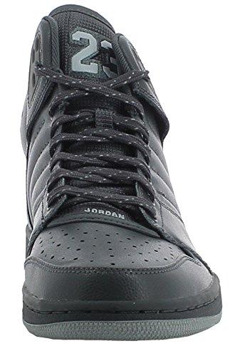 Nike Jordan 1 Flight 4 Homme Chaussures de Sport Gris Cuir