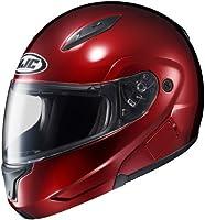 HJC Helmets CL-MAX 2 Helmet (Wine, XXXX-Large) by HJC Helmets