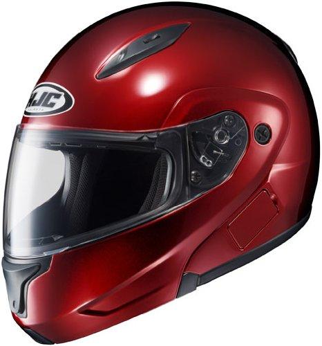 Cl Hjc Max Wine (HJC Helmets CL-MAX 2 Helmet (Wine, Large))