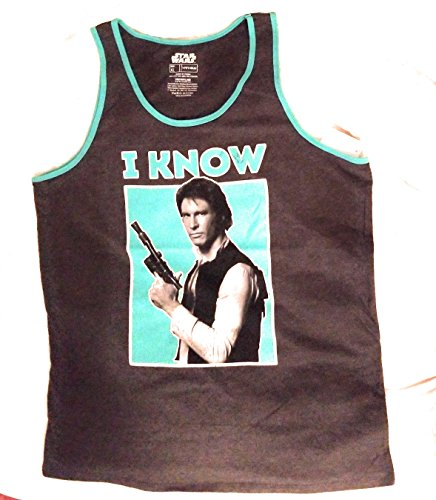 Generic Star Wars Han Solo I Know Tank