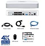 Lorex NR8182 8 Channel 4K Ultra HD NVR 2TB Surveillance System