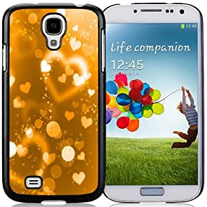Popular And Unique Designed Case For Samsung Galaxy S4 I9500 i337 M919 i545 r970 l720 With Shiny Love Heart Halos Phone Case Cover