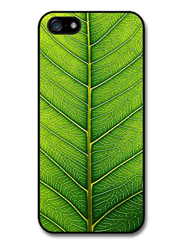Green Leaf Close Up Cool Style Design coque pour iPhone 5 5S