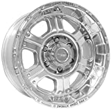 Pro Comp Alloy 1089-7883 Xtreme Alloys Series 1089 Polished Finish; Size 17x8; Bolt Pattern 6x5.5 in.; Back Space 4.5 in.;