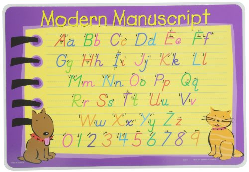Painless Learning Contemporary Cursive Placemat