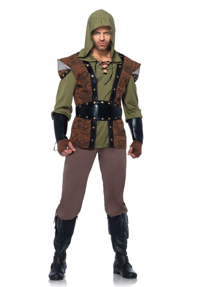 Karneval-Klamotten Robin Hood Kostüm Herren-Kostüm Karneval Mittelalter Räuber Herrenkostüm Größe 50/52