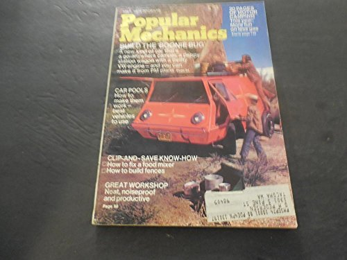 Popular Mechanics Mar 1974, Motor Camping, Build Your Own Boonie Bug