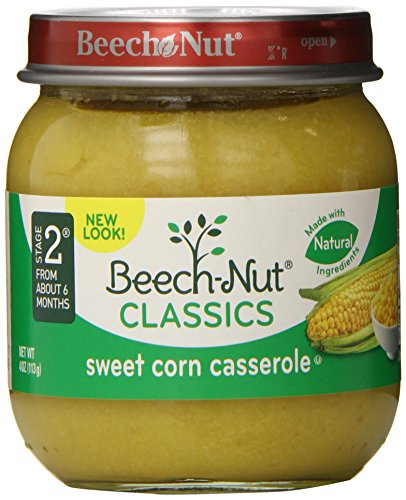 Beech-Nut Classics, Sweet Corn Casserole, 4 Ounce (Pack of 10) - Corn Casserole