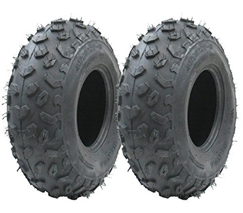 Two - 19x7-8 quad tyre, 19 7.00-8 ATV E marked road legal tyre 19x7-8 tire ride on lawnmower Wanda