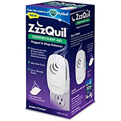 Kaz USA ZZZquil Scented Sleep-Aid Plugged In Sleep Enhancer, 4 Count