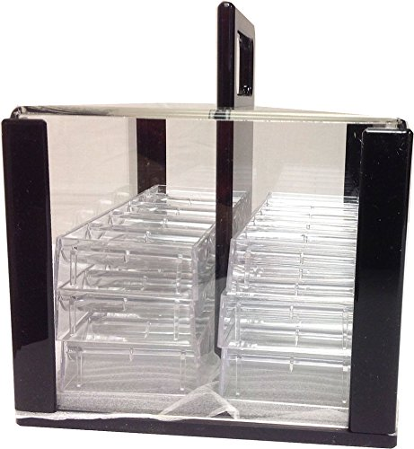600 Poker Chips Carrier Caddy WITH 6 Chip Racks by Vegas Gaming Supplies