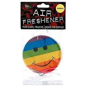 Rainbow Smiley - Air Freshener