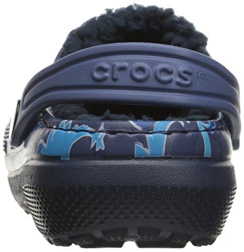 crocs Kinder 203508 Clogs blau - dunkelblau