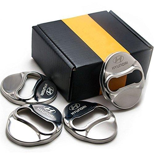 ,Veracruz Tucson ,Sonata 09-15 14 07-12 10-15 06-15 Elantra ,Azera 4PCS Stainless Steel Door Lock Striker Cover for Hyundai Verna 05-15 12-15 ,Avante 11-15 09-13 ,ix35 Tucson ,Veloster