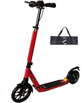 Amazon.com: LXLA - Patinete para adultos con ruedas grandes ...