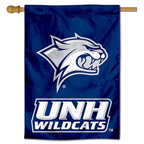 New Hampshire Wildcats Two Sided and Double Sided House Flag (Hampshire New University Merchandise Of)