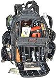 511 range bag - Backpack + Range Bag with Large Padded Deluxe Tactical Divider and 9 Clip Mag Holder - Rangemaster Gear Bag Explorer (black)