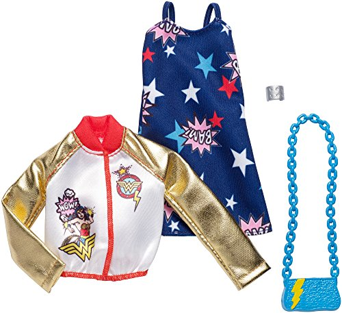 Barbie Super Pack - Barbie DC Comics Wonder Woman Fashion Pack