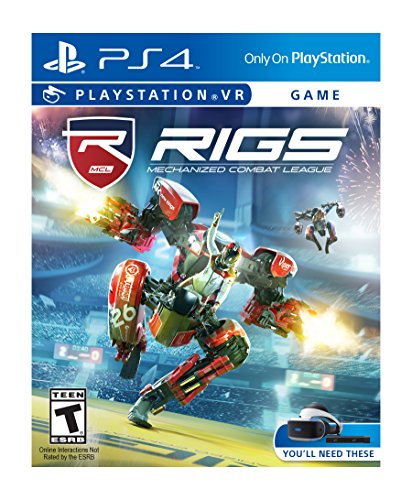 RIGS Mechanized Combat League PlayStation 4 product image