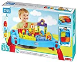 Best Mega Bloks Toys One Year Old Boys - Mega Construx Build 'N Learn Table Building Set Review