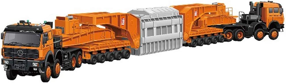 TAKARA TOMY Tomica No.127 Mercedes-Benz 4850 240 Schnabel trailer Mini Car