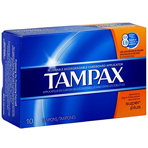 Applicator Flushable - Tampax Biodegradable Applicator Tampons, Super Plus 10 ea