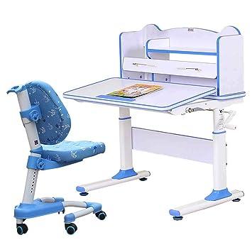 Juegos de mesas y sillas Mesa de estudio para niños, mesa de estudio y silla para ...
