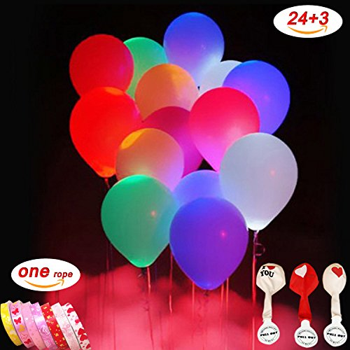 Helium Balloons With Led Lights - 8