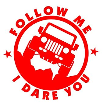 TAILGATE ME I DARE YOU DIESEL FUNNY VINYL DECAL STICKER MANY COLORS