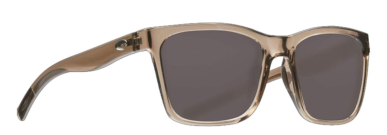 e4761150062ac Amazon.com  Costa Del Mar Panga Sunglasses-Shiny Taupe Crystal-Gray 580P   Clothing