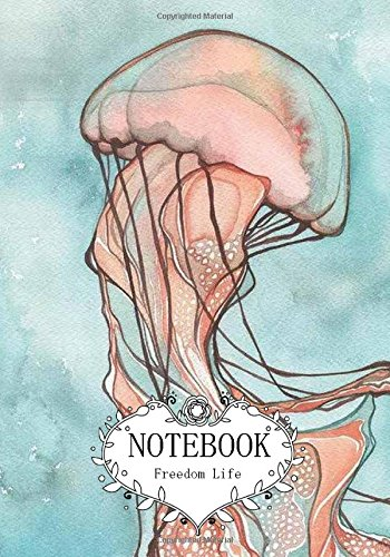 "Notebook : Jellyfish: Pocket Notebook Journal Diary, 120 pages, 7"" x 10"" (Notebook Lined,Blank No Lined) pdf epub"
